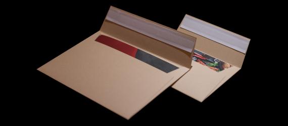 Briefumschläge für Kartenhalter